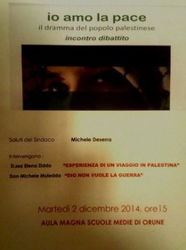 Progetu 'JEO AMO SA PACHE': martis 2 de nadale unu abboju nou